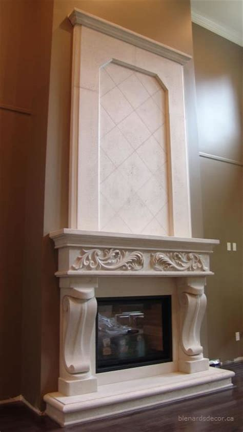 fireplace mantel 10 with mantel limestone