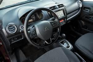 Mitsubishi Mirage Interior Mitsubishi Mirage Features More Youth Oriented Interior