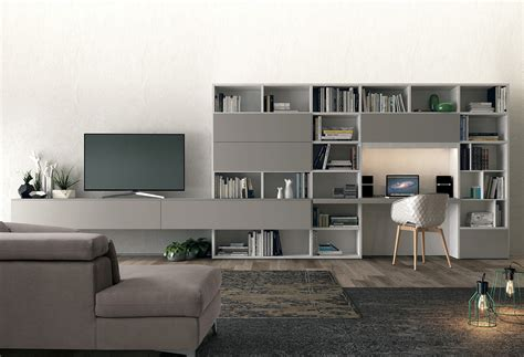 meuble tv avec bureau meuble tv avec bureau biblioth 232 que l10 colombini casa
