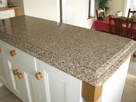 Kitchen Island Countertop Brownhill Cambria Quartz Installed Design Photos And