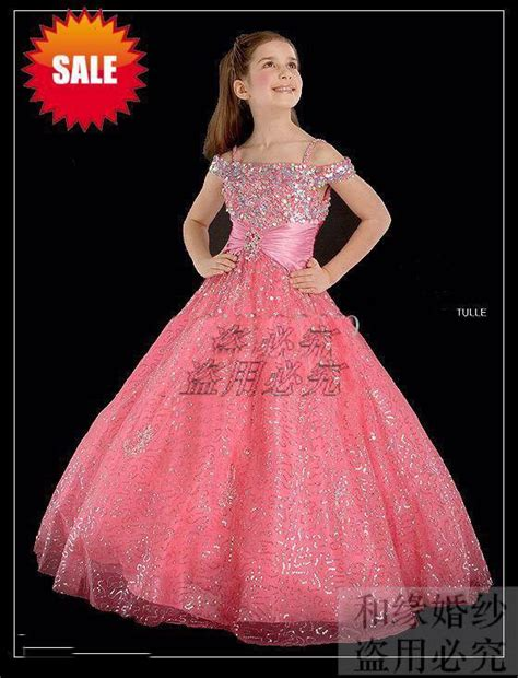 Flower girl pageant party holiday prom bridal recit wedding dress size