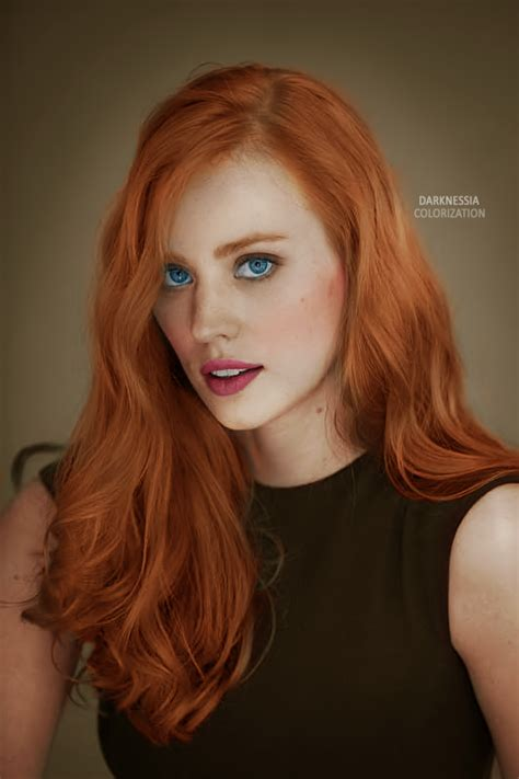deborah woll hair color image colorization deborah woll by cinderellaswan