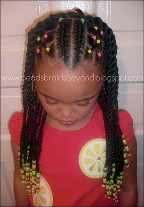 hairstyles with braids and beads braided hairstyles for little girls