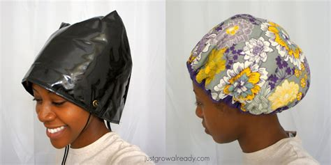 Diy Hair Dryer Cap conditioning heat caps vs steamers just grow already