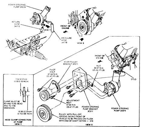 327 Ford Ranger 02 06 Stop L Lu Rem Belakang 231 1951 A repair guides power steering removal