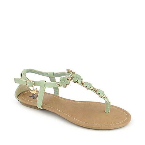 mint green sandals shiekh medina s mint green flat sandal
