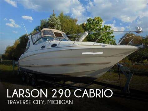 larson boats cabrio 290 larson 290 cabrio boats for sale in sarasota florida