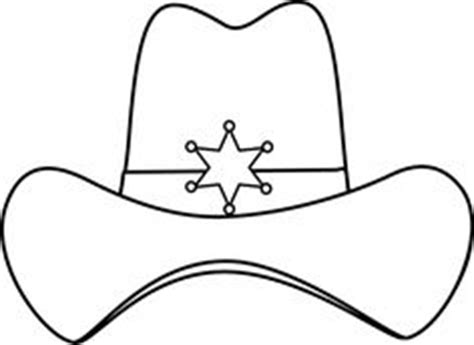 paper cowboy hat template hats illustrations on fashion illustrations