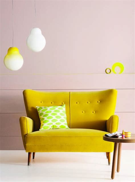Chartreuse Sofa by Design A Room With Pops Of Chartreuse Homejelly