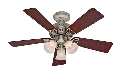 Top Of The Line Ceiling Fans by 42 Quot Ceiling Fan With Light Beacon Hill Brushed