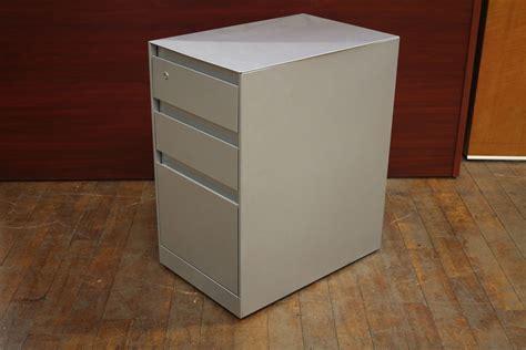 steelcase metal mobile pedestal file peartree office