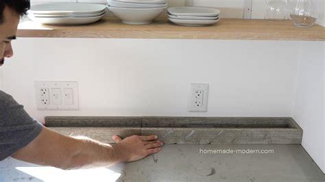 HomeMade Modern EP120 DIY Concrete Backsplash