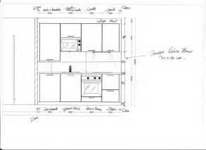 hauteur id饌le plan de travail cuisine hauteur standard meuble haut cuisine prinsenvanderaa