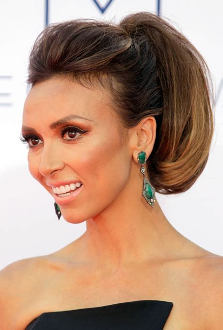 giuliana devono mens hairstyles preppy high pony wedding hairstyle giuliana rancic s