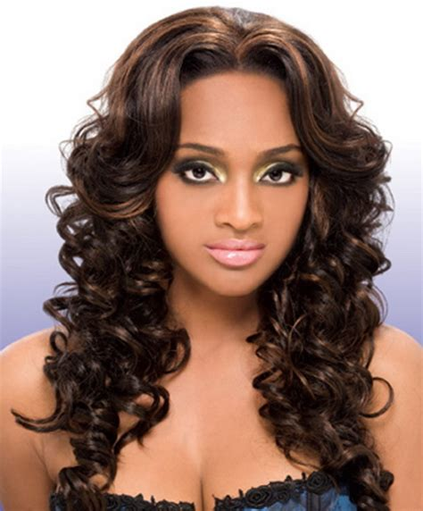 hairstyles curly weave curly weave hairstyles with bangs