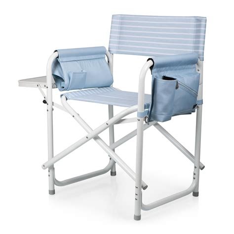 picnic time gardener folding chair with tools outdoor directors folding chair picnic time family of brands
