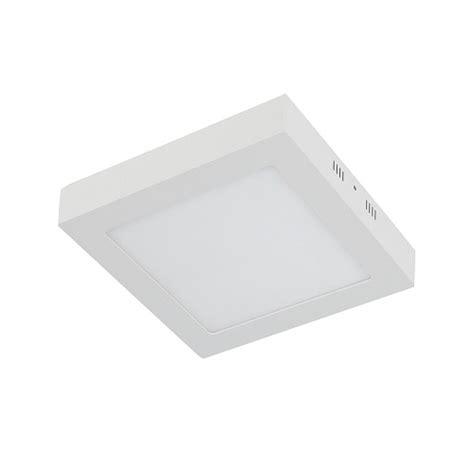 Lu Led Plafon plafon led 6w bco frio quadrado