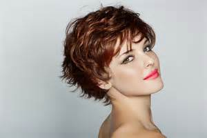 short hairstyles for fine hair pictures 25 short curly hair with bangs