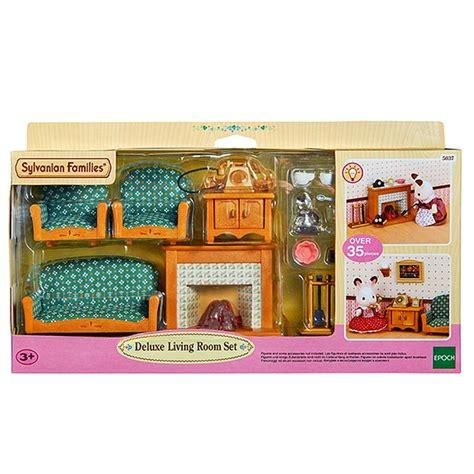 Sylvanian Families Living Room Set Sylvanian Families Deluxe Living Room Set Target Australia