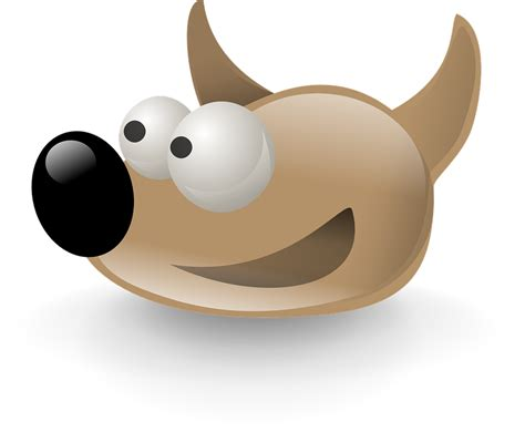 gimp making image transparent free vector graphic gimp logo dog sout cartoon free