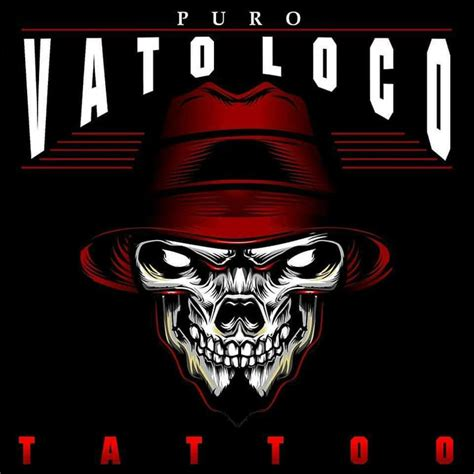 vato loco tattoos skull day of the dead by