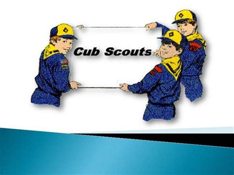 cub scout powerpoint template cub scouts authorstream