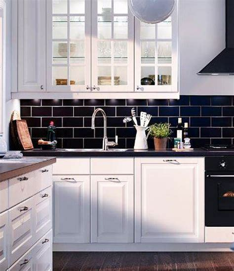 black white kitchen tiles inspiration to add subway tiles in your kitchen home