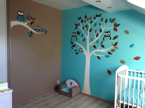 chambre hibou davaus chambre bebe hibou bleu avec des id 233 es