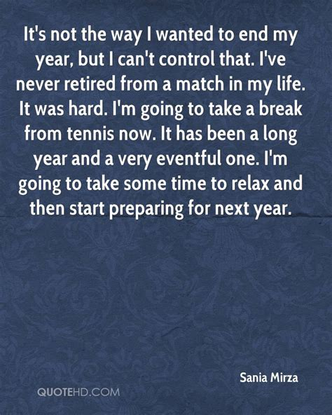 Can I Finish An Mba In One Year by Sania Mirza Quotes Quotehd