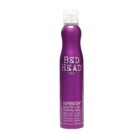 bed head spray tigi bed head superstar queen for a day thickening spray