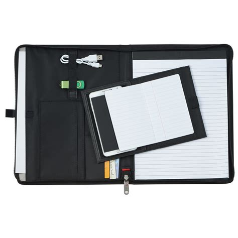4imprint.com: Wenger Tech Zippered Padfolio   24 hr 133079