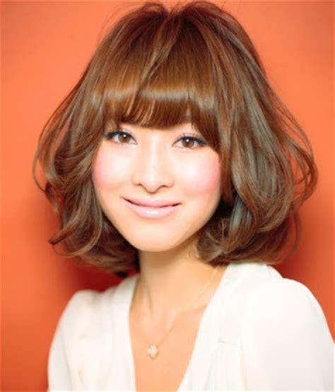 cara cepol rambut pendek ala korea model rambut sebahu ala artis korea