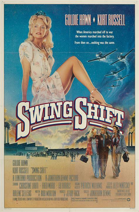 swing shift 1984 swing shift 1984 original movie poster fff 07358 fff