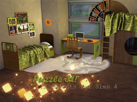 bedroom community crossword the sims 4 custom content puzzle it bedroom set