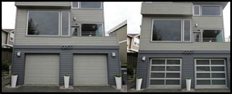 Precision Garage Door Seattle Before And After