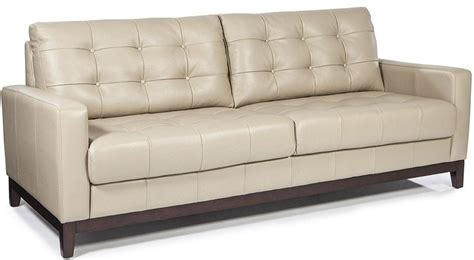 Clayton Leather Sofa Clayton Taupe Leather Sofa From Lazzaro Coleman Furniture