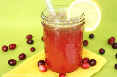 Yellow During Detox by Cranberry Apple Detox Juice By Wellness