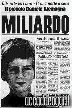 Accadde oggi | 28 ottobre: Rilasciato Daniele Alemagna