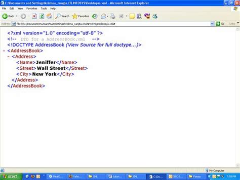 detailed tutorial on xml xml document type definitions dtd it training and