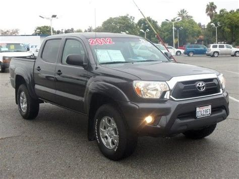 2012 Toyota Tacoma Mpg Find Used 2012 Toyota Tacoma Pre Runner Crew Cab 4