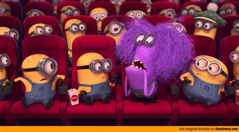 imagenes de minions violetas los minions en el cine
