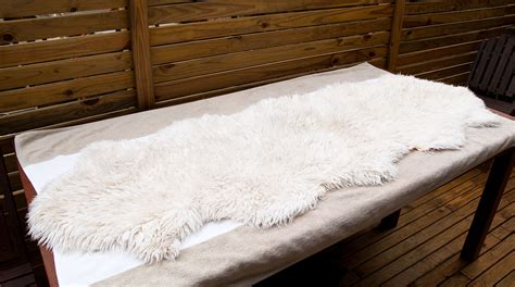 Washing A Sheepskin Rug how to clean a genuine leather sheepskin rug 9 steps