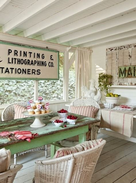 vintage inspired inglewood cottage shabby chic patio