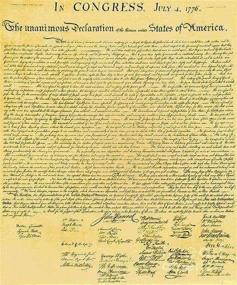 Printable Declaration Of Independence Pdf
