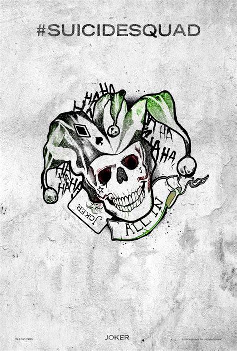Imagenes De Calaveras Joker | tattoos weapons n candy coole neue poster zu dcs
