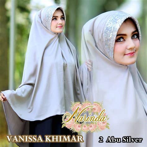 Grosir Jilbab Vanissa Khimar Hatma Fashion Vanissa Khimar By Narinda