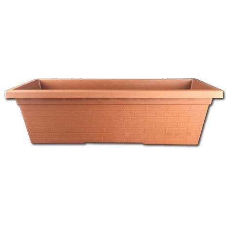 plastic window planter boxes terracotta plastic window box