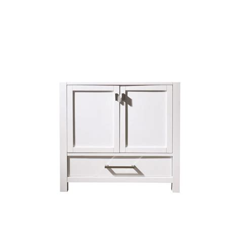 avanity modero 36 inch vanity cabinet in white the home
