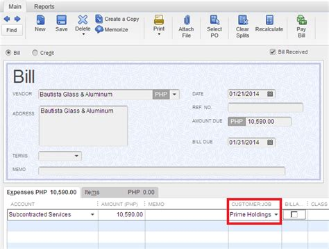 quickbooks tutorial on job costing all about quickbooks job costing in quickbooks