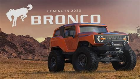 Release Date Of 2020 Ford Bronco by 2020 Ford Bronco Exterior Thecarsspy